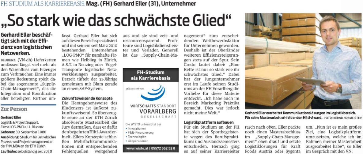 Vorarlberger Nachrichten LOG-PMO